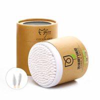 200PCS / Pack Bastoncillos de algodón Bastoncillos de madera Hisopos d...