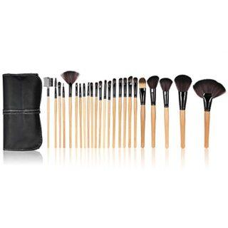 Anself - Set de brochas profesionales para maquillaje kit 24 piezas + ...