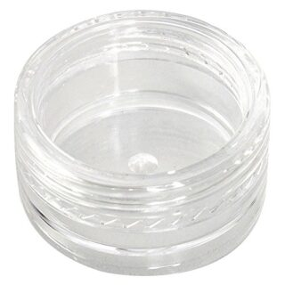 GreenRibbon Maceta de 5 gramos vacío plástico envases cosméticos frasc...