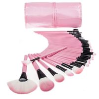 Juego profesional de brochas de maquillaje TopSuper® de madera, kit de...