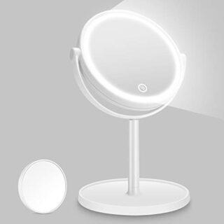 Kasimir Espejo Maquillaje con Luz LED Espejo de Maquillaje Táctil Ultr...