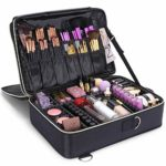Lifewit Profesional Neceser Mujer Maquillaje Grande 3 Pisos Mochila pa...