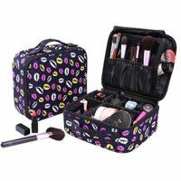 Neceser Maquillaje Impermeable Bolsa de Maquillaje Organizador A Broch...