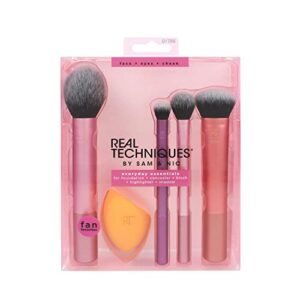 Real Techniques Everyday essentials - kit completo de brochas 200 g