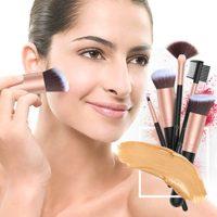 Set de brochas de maquillaje profesional BESTOPE 16 piezas Pinceles de...