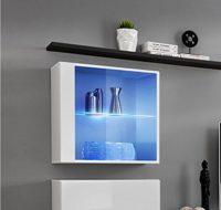 muebles bonitos - Mueble Colgante Modelo Berit LD 60x60 en Color Blanc...