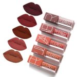 5 Colors Matte Lipstick Set, FOXTSPORT Super Stay Pintalabios Mate Lar...