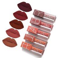 5 Colors Matte Lipstick Set, FOXTSPORT Super Stay Pintalabios Mate Lar...