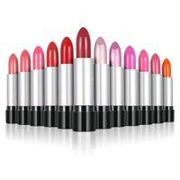 Anself - 12 colores Conjunto de Pintalabios brillante cosmético para m...