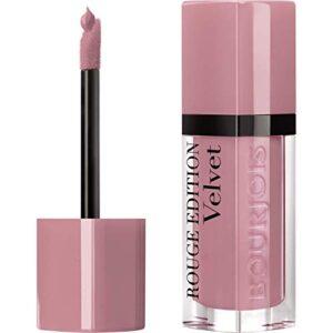 Bourjois Velvet Barra de Labios Líquida Tono 10 Don't pink of it! - 2...