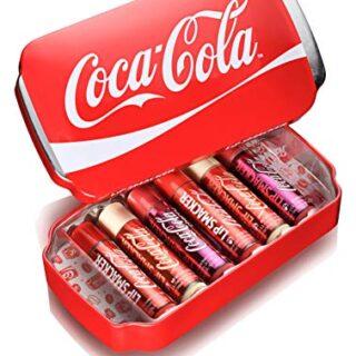 Lip Smacker Coca Cola Lip Gloss (paquete de 6), sabores variados