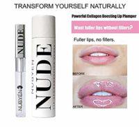 Nubyen Desnudo - Potente Volumizing, Aumento, Plumping Serum Lip Gloss...