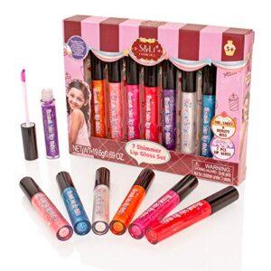 Style Girlz S & Li Cosmetics - Juego de 7 paletas Multicolores, Brillo...