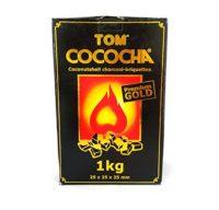 4 CARBÓN TOM COCOGOLD (TOM COCOCHA). 4 CAJAS DE 1 KG. TOTAL 4 KGS.