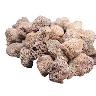 4 kg de rocas de lava para barbacoa.