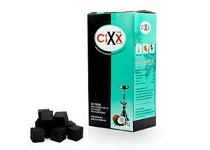 Aton Carbón de Coco prémium, 20 kg, 100% Natural, de Coco, para Shisha...