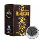 Briquetas carbón natural Suprem Fresh Coco 1kg para cachimba, sistema...