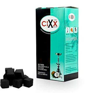 CIXX Aton - Carbón para Shisha, 4 kg, carbón de Coco, sin Humo, sin Ol...