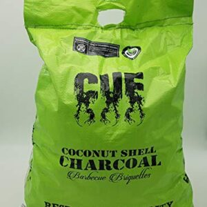 CUE CHARCOAL Cachorro para Barbacoa de carbón Vegetal - Bolsas de 12 k...