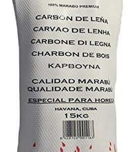 Carcoa Pro Caribbean - Carbón vegetal, 15 kg, color negro