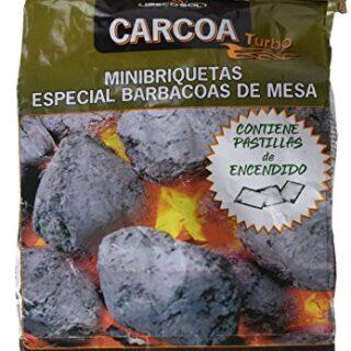 Carcoa Wonder Briquettas Briquetas de Carbón Vegetal, Negro, 18x8x29 c...