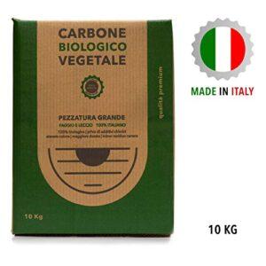 Clase Italia - Caja de 10 kg biológica Vegetal de Madera de Haya y Lec...