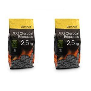 Dancoal - Barbacoa de carbón Natural, 2,5 kg, Compatible con el CO2 ec...