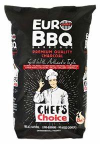 EUROBBQ Barbeque Black Chef's Choice carbón profesional de primera cal...