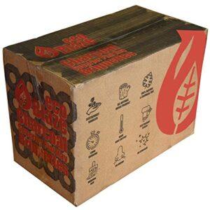 Eco Blaze - Briquetas de pini-kay, Color Gris