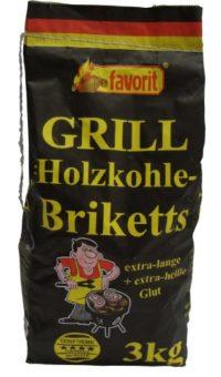 Favorit 3000 - Briquetas de carbón vegetal (3 kg)