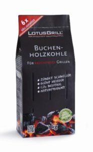 LotusGrill buchen-holzkohle 1kg. Especialmente Desarrollado para baja...
