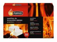 OK FUEGO 87002 Pastillas Encendido, Carbón