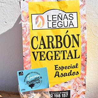 Pack carbón Vegetal de Quebracho + Aromatic Chip encina