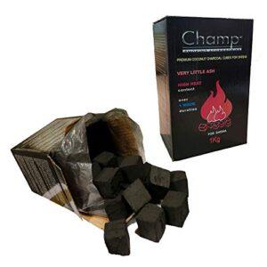Sakasu Carbón de Coco para Shisha de 5-10 kg, 100% carbón Natural para...