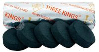 Three Kings Carbón 40mm-Rollo (10Unidades, Encendido automático)