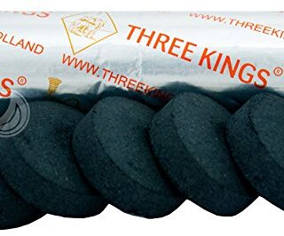 Three Kings Carbón 40 mm - Rollo (10 Unidades, Encendido automático)