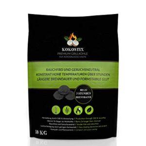 V2 Foods Carbón de Coco Kokostix, duración de combustión Extra Larga, ...
