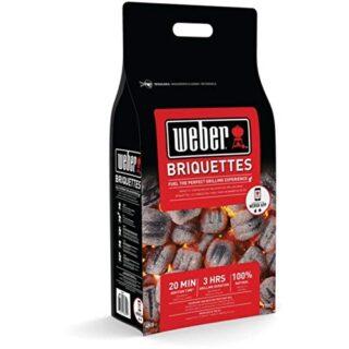 Weber 17593 - Saco de 4 kg de briquetas