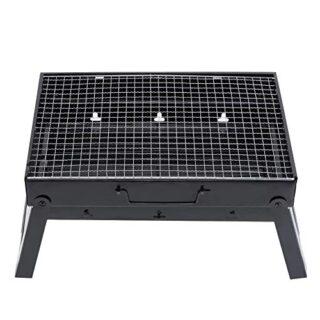 Yencoly Estufa de Parrilla de carbón de leña Plegable portátil para Ba...