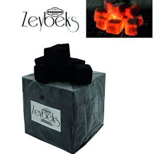 Zeybeks 6 kg Briquetas: para Shisha y BBQ, carbón de Shisha y Coco, Pr...