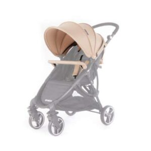 Baby Monsters Compact - Pack Accesorios para Sillita de Paseo, Beige