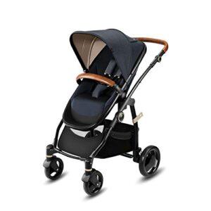 Cochecito Cbx Leotie Lux 518001677 con asiento reversible y capazo para ...