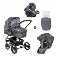 Hauck Pacific 4 Shop N Drive - carro de bebe de 7-piezas, hasta 25kg, ...