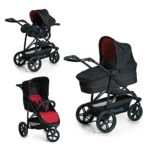 Hauck Rapid 3 Plus Trio Set - Carro deportivo 0 meses hasta 25 kg, coc...