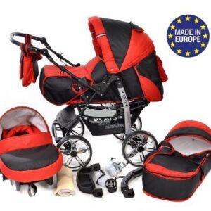 Kamil - Sistema de viaje 3 en 1, silla de paseo, carrito con capazo y ...