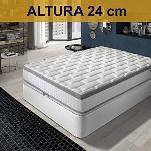 Relaxing-Confort Colchon viscoelastico, Espuma, 135x200