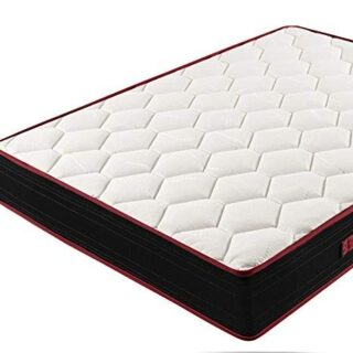 HOGAR24 Memory Fresh 3D - Colchón Viscoelástico Reversible, 135 x 180 ...