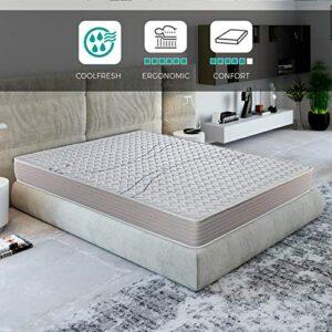 ROYAL SLEEP Colchón viscoelástico 135x182 de máxima Calidad, Confort, ...