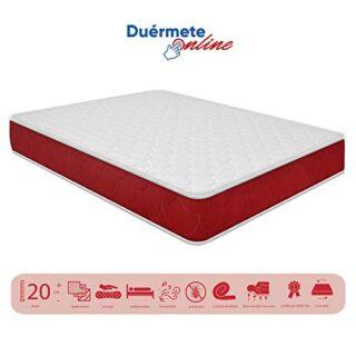 Duermete viscoelástico Lite Reversible (colchón a 2 Caras), Muy Transp...