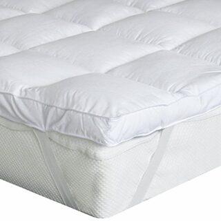 Bedecor Microfibra Almohadilla de colchón de poliéster,Suave,antialérg...